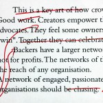 The art of rewriting: write — walk away — edit