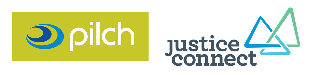 PILCH and Justice Connect Logos