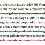 Edited UN Women press release