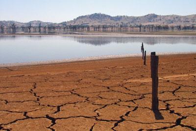 Murray Darling in drought