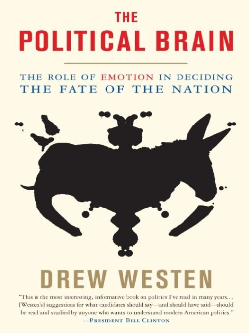 Cover of Drew Westen's book: The Political Brain