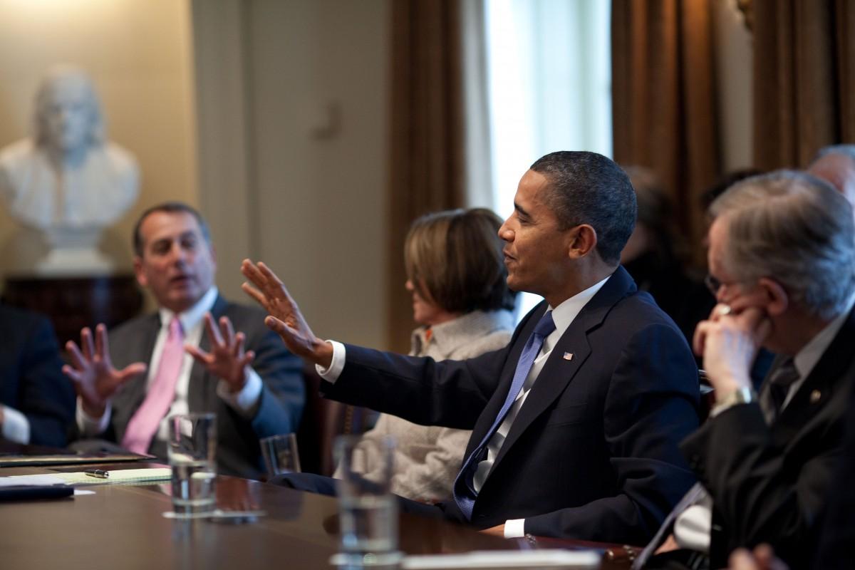 Obama vs Boehner