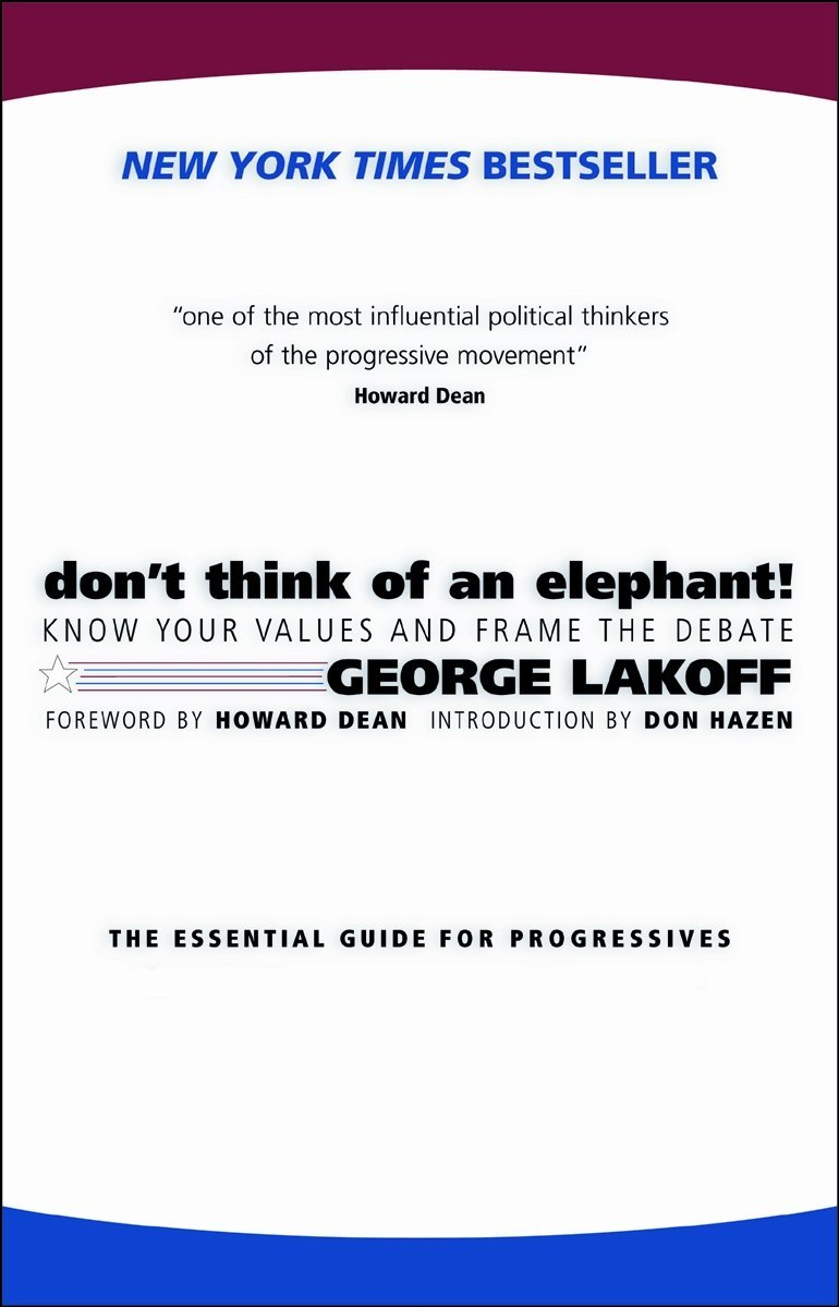 Cover of Don't Think of an Elephant!